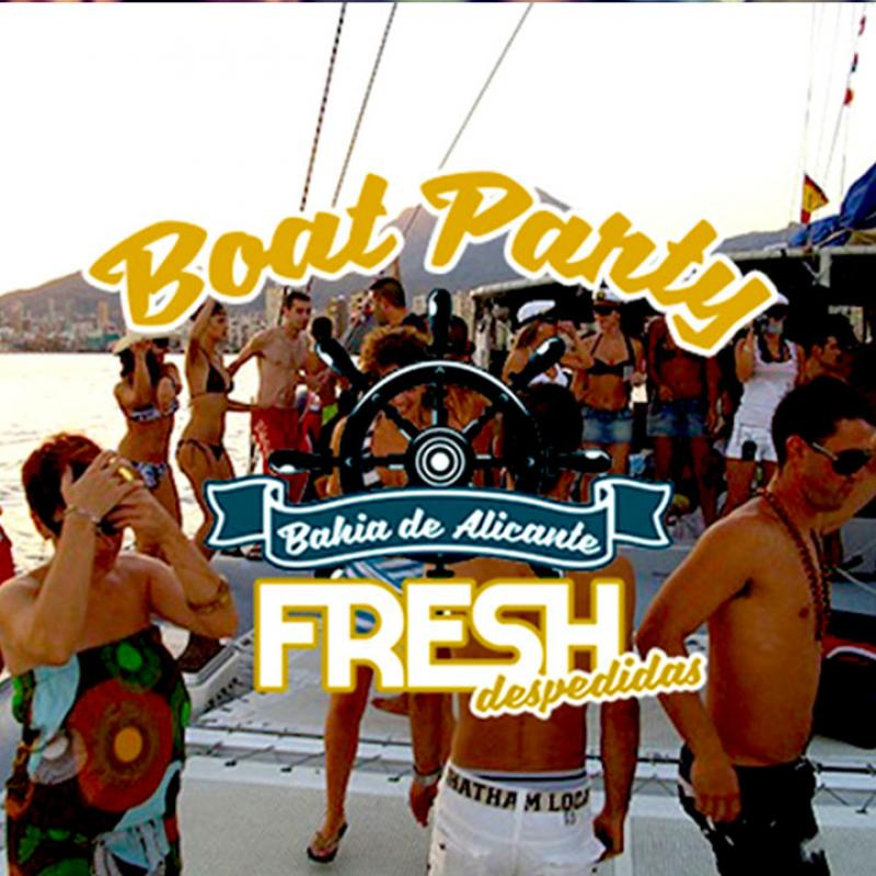 Boat Party en la Bahia de Alicante